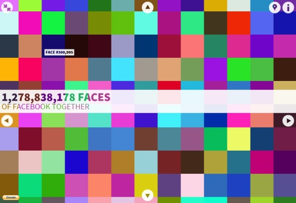 the faces of facebook // union jack creative
