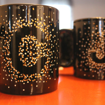 Everyday Letters: Make-Your-Own Mugs