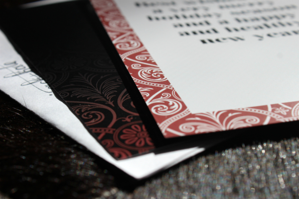2015 holiday cards and invitations // union jack creative