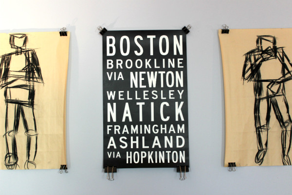 boston marathon poster // union jack creative